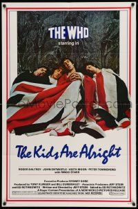 2g462 KIDS ARE ALRIGHT 1sh '79 Jeff Stein, Roger Daltrey, Peter Townshend, The Who, rock & roll!