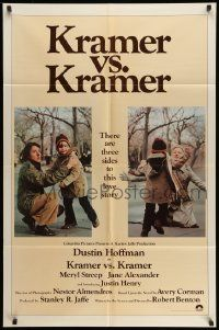 2g470 KRAMER VS. KRAMER int'l 1sh '79 Dustin Hoffman, Meryl Streep, child custody & divorce!