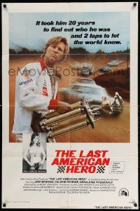 2g482 LAST AMERICAN HERO int'l 1sh '73 Jeff Bridges, sexy Valerie Perrine, car racing!