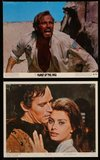2h003 CHARLTON HESTON 18 color 8x10 stills '60s-70s wonderful portrait images of the star!