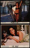2h001 JACQUELINE BISSET 23 color 8x10 stills '60s-70s portraits of the star from a variety of roles