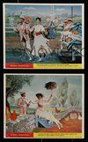 2h039 MARY POPPINS 8 color English FOH LCs '64 Dick Van Dyke, Glynis Johns, Disney's classic!