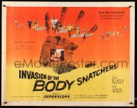 2k031 INVASION OF THE BODY SNATCHERS style A 1/2sh '56 ultimate classic in science-fiction!