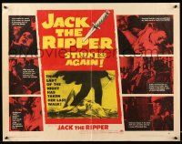 2k032 JACK THE RIPPER style A 1/2sh '60 American detective helps Scotland Yard find fabled killer!