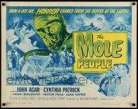 2k035 MOLE PEOPLE 1/2sh R64 from a lost age, horror crawls from the depths of the Earth!