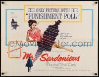 2k038 MR. SARDONICUS 1/2sh '61 William Castle, the only picture with the punishment poll!