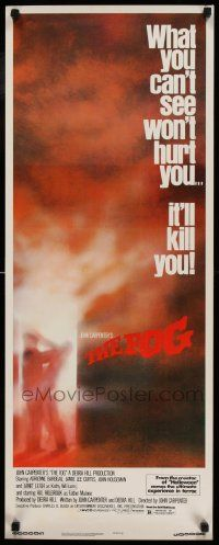 2k063 FOG insert '80 John Carpenter, what you can't see won't hurt you, it'll kill you!