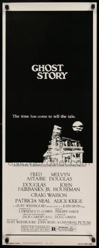 2k068 GHOST STORY insert '81 time has come to tell the tale, from Peter Straub's best-seller!