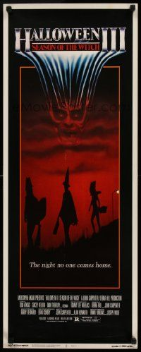 2k070 HALLOWEEN III insert '82 Season of the Witch, horror sequel, cool horror image!