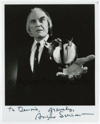 2m060 ANGUS SCRIMM signed 8x10 REPRO still '80s as The Tall Man with the killer ball from Phantasm!