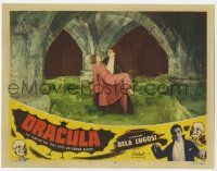 2m293 DRACULA LC #8 R51 vampire Bela Lugosi with cape carrying Helen Chandler, Tod Browning!
