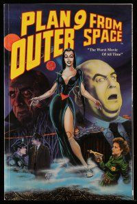 2m072 PLAN 9 FROM OUTER SPACE graphic novel '91 by John Wooley, drawn by Timmons & McCorkindale!