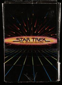 2m074 STAR TREK presskit w/ 5 stills '79 special deluxe version w/ 11 supplements & paperback book!