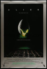 2r022 ALIEN style B DS 1sh R03 Ridley Scott outer space sci-fi monster classic, cool egg image!
