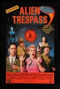 2r025 ALIEN TRESPASS DS 1sh '09 creeping, crawling nightmare of terror, can mankind be saved!