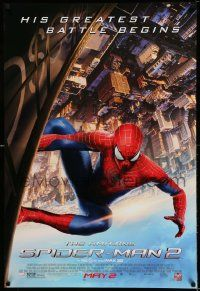 2r032 AMAZING SPIDER-MAN 2 advance DS 1sh '14 Andrew Garfield, his greatest battle begins!
