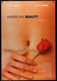 2r037 AMERICAN BEAUTY DS 1sh '99 Sam Mendes Academy Award winner, sexy close up image!