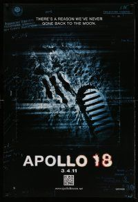 2r057 APOLLO 18 teaser DS 1sh '11 Gonzalo Lopen-Gallego, there's a reason we never went back!