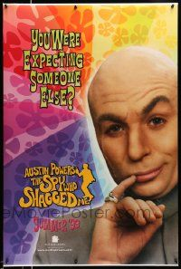 2r068 AUSTIN POWERS: THE SPY WHO SHAGGED ME teaser DS 1sh '97 Mike Myers as Dr. Evil!