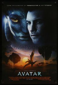 2r073 AVATAR style C advance DS 1sh '09 James Cameron directed, Zoe Saldana, cool image!