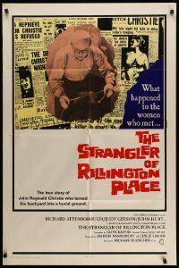 2t012 10 RILLINGTON PLACE int'l 1sh '71 Attenborough, the story of the Christie sex-murders!