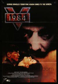 2t016 1984 English 1sh '84 George Orwell, John Hurt, creepy image of Big Brother!