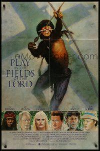2t076 AT PLAY IN THE FIELDS OF THE LORD int'l 1sh '91 Tom Berenger, John Lithgow, Daryl Hannah