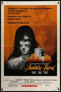 2t080 AUDREY ROSE 1sh '77 Susan Swift, Anthony Hopkins, a haunting vision of reincarnation!