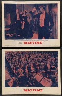2w925 MAYTIME 2 LCs R62 intense and jealous John Barrymore and cool orchestra scene!