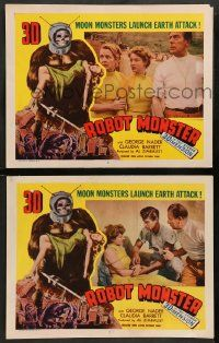 2w960 ROBOT MONSTER 2 3D LCs '53 wacky images and art from the worst movie ever!