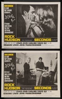 2w965 SECONDS 2 LCs '66 Rock Hudson, John Frankenheimer, not for weak sisters or strong stomachs!