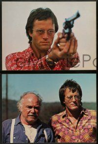 2w159 FIGHTING MAD 8 10.25x14 stills '76 Jonathan Demme, image of Peter Fonda pointing gun & more!