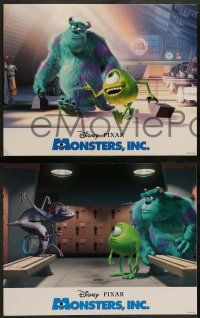 2w040 MONSTERS, INC. 9 LCs '01 Disney & Pixar computer animated CGI cartoon!