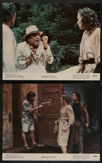 2w332 ROMANCING THE STONE 8 color 11x14 stills '84 Michael Douglas, Kathleen Turner, Danny DeVito!