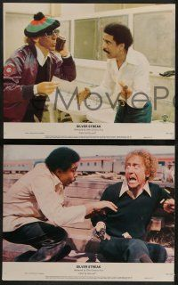 2w347 SILVER STREAK 8 color 11x14 stills '76 Gene Wilder, Richard Pryor & Jill Clayburgh!