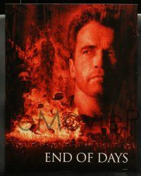 2w018 END OF DAYS 10 LCs '99 cool images of Arnold Schwarzenegger, Robin Tunney, Gabriel Byrne!
