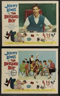 2w149 ERRAND BOY 8 LCs '62 wacky images of screwball Jerry Lewis!