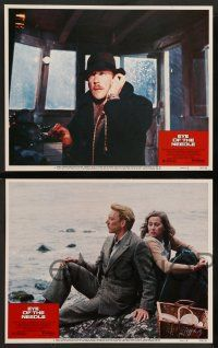 2w153 EYE OF THE NEEDLE 8 LCs '81 Donald Sutherland, Kate Nelligan, from Ken Follett novel!
