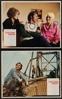 2w740 FIVE EASY PIECES 3 LCs '70 Jack Nicholson, Struthers, MacGuire, directed by Bob Rafelson!