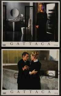 2w179 GATTACA 8 LCs '97 Ethan Hawke, Uma Thurman, there is no gene for the human spirit!