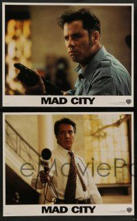 2w244 MAD CITY 8 LCs '97 John Travolta, Dustin Hoffman, directed by Costa-Gavras