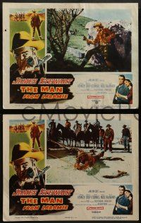 2w246 MAN FROM LARAMIE 8 LCs '55 cool images of James Stewart, directed by Anthony Mann!