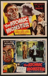 2w248 MAN MADE MONSTER 8 LCs R53 Lon Chaney Jr., Anne Nagel, The Atomic Monster!