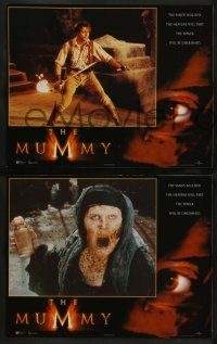 2w271 MUMMY 8 LCs '99 Brendan Fraser & Rachel Weisz in Egypt, the power will be unleashed!