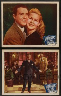 2w526 MUSIC MAN 6 LCs '48 Big Band leader Jimmy Dorsey, Alan Hale Jr, Noel Neill!