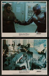 2w328 ROBOCOP 8 LCs '87 Paul Verhoeven classic, Peter Weller is part man, part machine, all cop!
