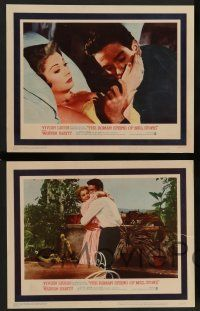 2w667 ROMAN SPRING OF MRS. STONE 4 LCs '62 Warren Beatty, gorgeous Vivien Leigh & Lotte Lenya!!