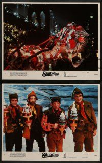 2w339 SANTA CLAUS THE MOVIE 8 LCs '85 great images of Dudley Moore, John Lithgow, Christmas comedy!