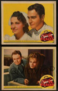 2w669 SECRET OF DR. KILDARE 4 LCs '39 Lew Ayres, Lionel Barrymore, pretty nurse Laraine Day!