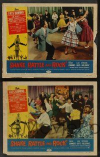 2w572 SHAKE, RATTLE & ROCK 5 LCs '56 Fats Domino & band, Rock 'n' Roll vs the Squares!